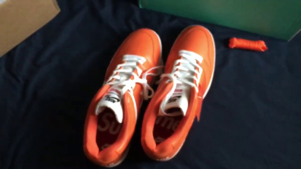 Supreme x Nike SB Air Force 2 Unboxing - YouTube 3d0fcd180
