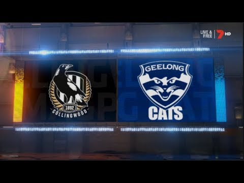 Round 1 Geelong Cats Vs Collingwood Magpies 2019 Highlights