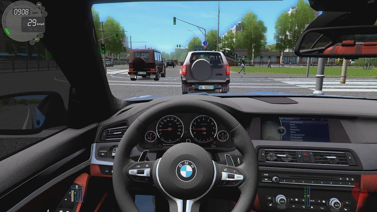 city car driving bmw m5 f10 2.2.7