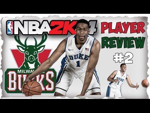 Jabari Parker #2 Overall Pick Player Review! NBA 2K14 Next ... Jabari Parker Nba 2k14