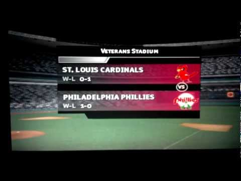 April 8th, 1978 - St. Louis Cardinals @ Philadelphia Phillies