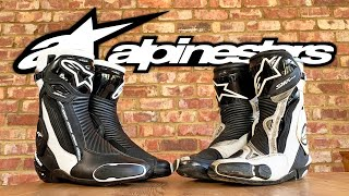 Why I think the Alpinestars SMX Plus V2 Motorcycle Racing Boots are the best
