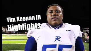 Alabama commit Tim Keenan III highlights