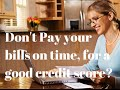 When to pay your credit cards for the best credit score. Credit Score Tips