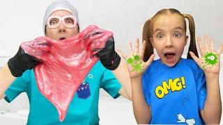 Маша и Мама и истории о том как важно мыть руки детям