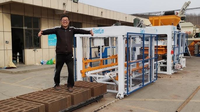 Precio Maquina Para Fabricar Bloques Block Adoquines De Cemento Hormigon Concreto En Venta En Mexico Youtube