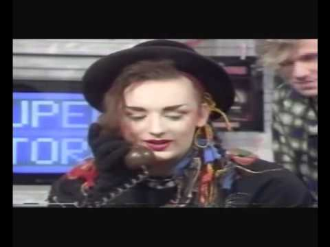 Culture Club on Saturday Superstore pt3 with 3 yr old  Natalie Casey
