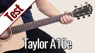 Taylor A10e   Gitarrentest