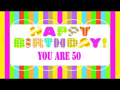 50 Years Old Birthday Song Wishes