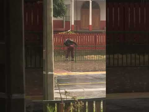 Eric Hunter - Kid Avoids Water Puddle Only To Be Drenched By A Car