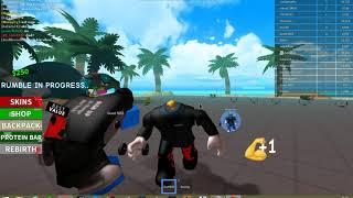 roblox box oyunus withel lliftingin gelismiş hali (Roblox Boxig Simulator)