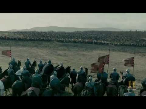 Vikings   The Great Heathen Army Attacks King Aelle's Army Season 4B Official Scene 4x18 HD 1
