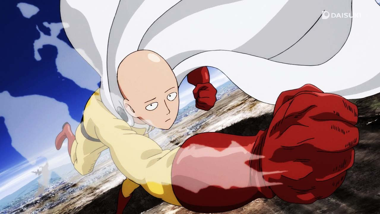 One Punch Man Anime Episode 1