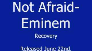Not Afraid - Eminem *NEW SINGLE 2010 OFF OF RECOVERY*