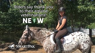 Riders say thank you to their veterinarians - National Equine Veterinarian Week