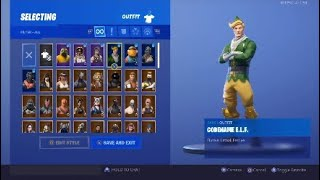 Season 1 Updated Fortnite Locker + Settings! Fortnite Codename E.L.F Account Giveaway! Read Pinned..