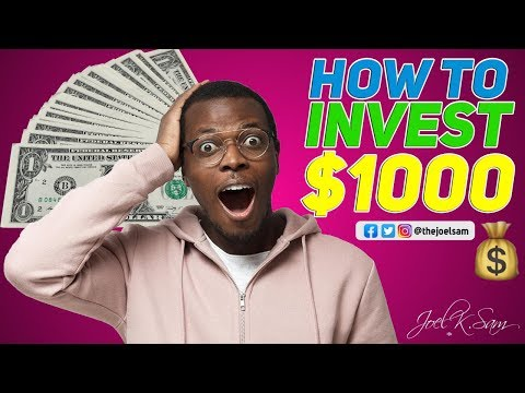 HOW TO INVEST $1000 IN 2020 || Treasury Bills (Best Strategy)