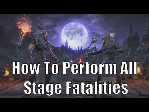 How to do Stage Fatalities | Mortal Kombat XL | Kombat Pack 2 (The Pit, The Kove, Refugee Camp)