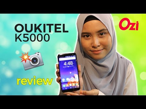 Review: Oukitel K5000 - budget 21MP selfie camera phones | 18:9 display