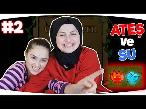 ATEŞ VE SU OYUNU | Part 2 | Eğlenceli Video - Funny Games Fenomen Tv