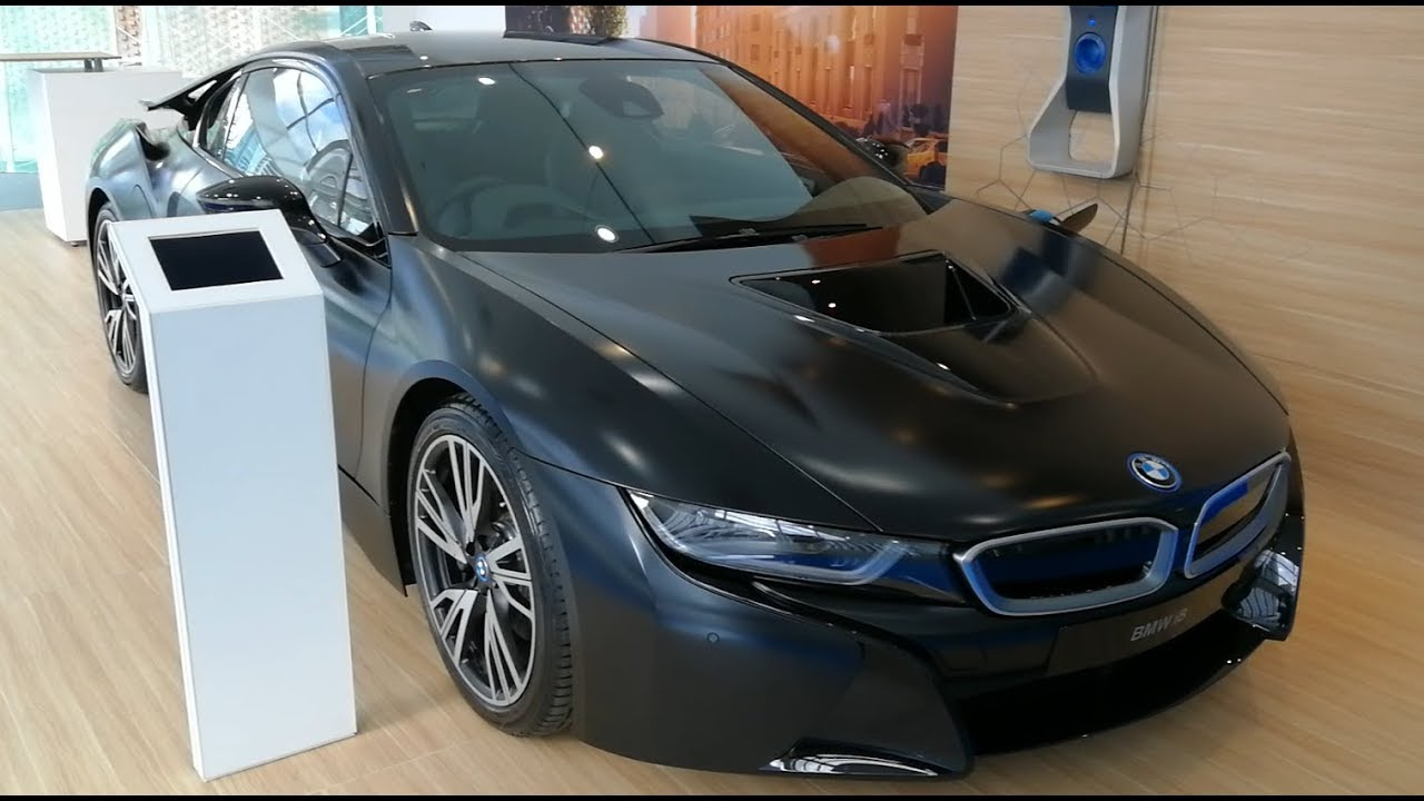Bmw I8 Protonic Frozen Black Edition 2018 Youtube