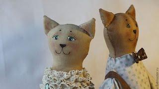 Как сшить интерьерную  куклу Тильду  Кот из старого чердака(Сейчас модно украшать интерьер куклами ручной работы. Особенно популярные так называемые