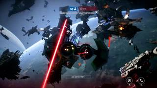 Star Wars Battlefront 2 - Starfighter Assault on Endor [Imperial Forces - No Commentary]