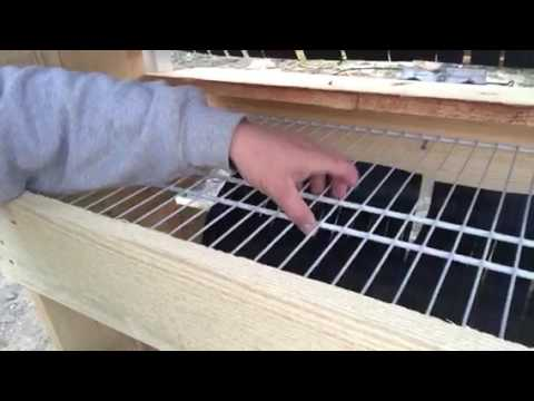 Roll away nest boxes