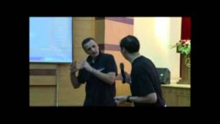 Dragan Raca.FIBA coach. Elite clinic Seminar. Quingdao, China 2010.