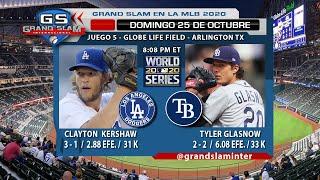 Juego de beisbol serie mundial en vivo