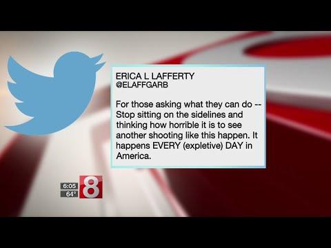 Newtown families react to Las Vegas shooting on Twitter