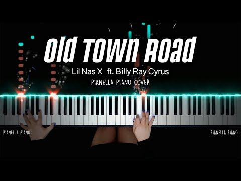 Lil Nas X - Old Town Road ft. Billy Ray Cyrus   PIANO COVER by Pianella Piano