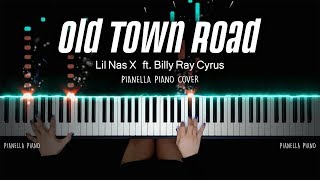 Download lagu Lil Nas X - Old Town Road ft. Billy Ray Cyrus | PIANO COVER by Pianella Piano