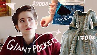Women's Pockets Weren't Always a Complete Disgrace|A Brief History: Women's Pockets, England 15c-21c