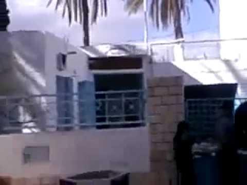 Affrontement et destruction d'un poste de police à Hamma en Tunisie le 13 janvier
