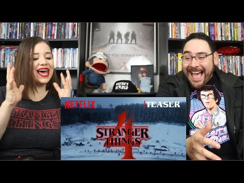Stranger Things 4 FROM RUSSIA WITH LOVE - Official Teaser Trailer Reaction / Review