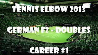 Tennis Elbow 2013 - German F2 Doubles - Career #1 - PC Gameplay