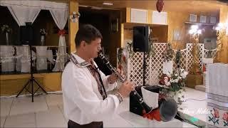 """Lautari in Italia """" Hora Moldovei """" - purpuriu clarinetul -purtate"""