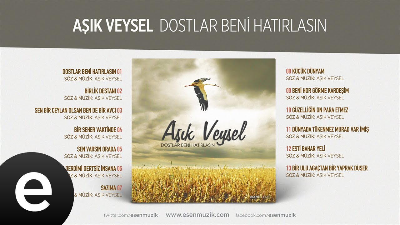 Bir Seher Vaktinde (Aşık Veysel) Official Audio #birsehervaktinde #aşıkveysel - Esen Müzik