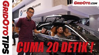 Cara Buka Dan Tutup Atap BMW 430i Convertible | How To | GridOto Tips