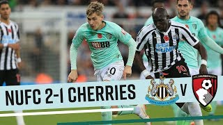 DEFEAT AT ST JAMES'   Newcastle United 2-1 AFC Bournemouth