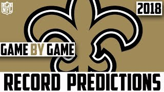 NEW ORLEANS SAINTS RECORD PREDICTION 2018 - Predicting The New Orleans Saints 2018 Record (NFL)