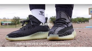 (Gifted) Adidas Yeezy 350 Asriel Unbox Review Comparison On foot