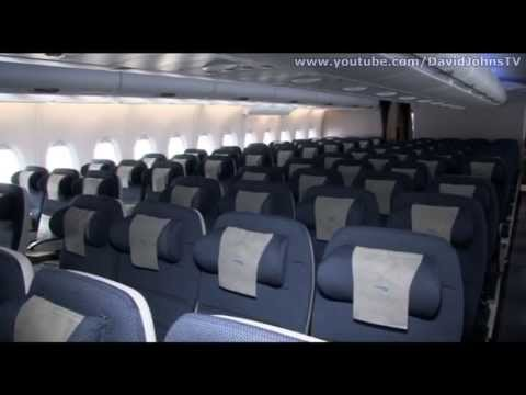 Inside the british airways airbus a380 youtube for First class 8 interieur