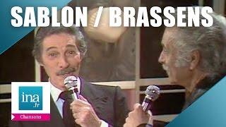 "Jean Sablon et Georges Brassens ""Paris, tu n"