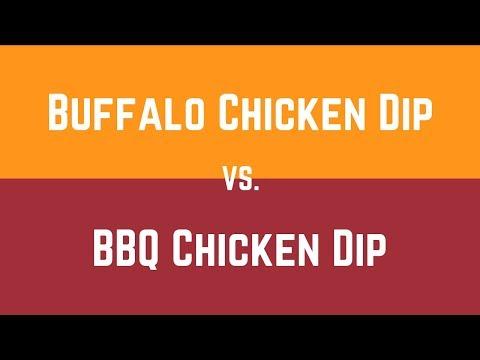 Buffalo Chicken Dip & BBQ Chicken Dip