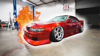 S13 ALMOST CATCHES ON FIRE...