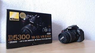 Nikon D5300 Digital Camera Unboxing