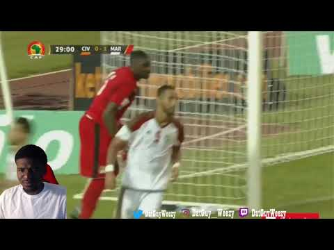 Ivory Coast vs Morocco 0-2 - All Goals & Highlights World Cup Qualifiers 2018 Reaction
