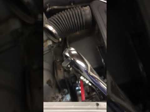 Chevy Captiva Equinox 24 Serpentine Belt Install Removal Youtube